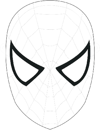 Spiderman Black Suit Drawing