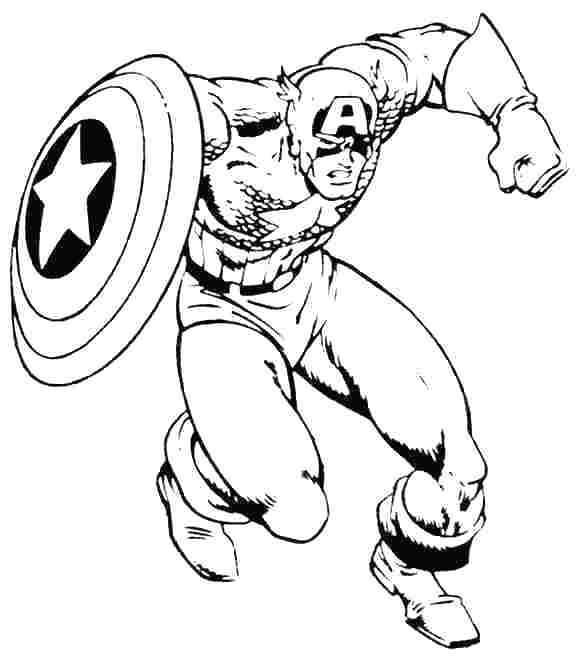 581x660 captain america coloring pages captain coloring
