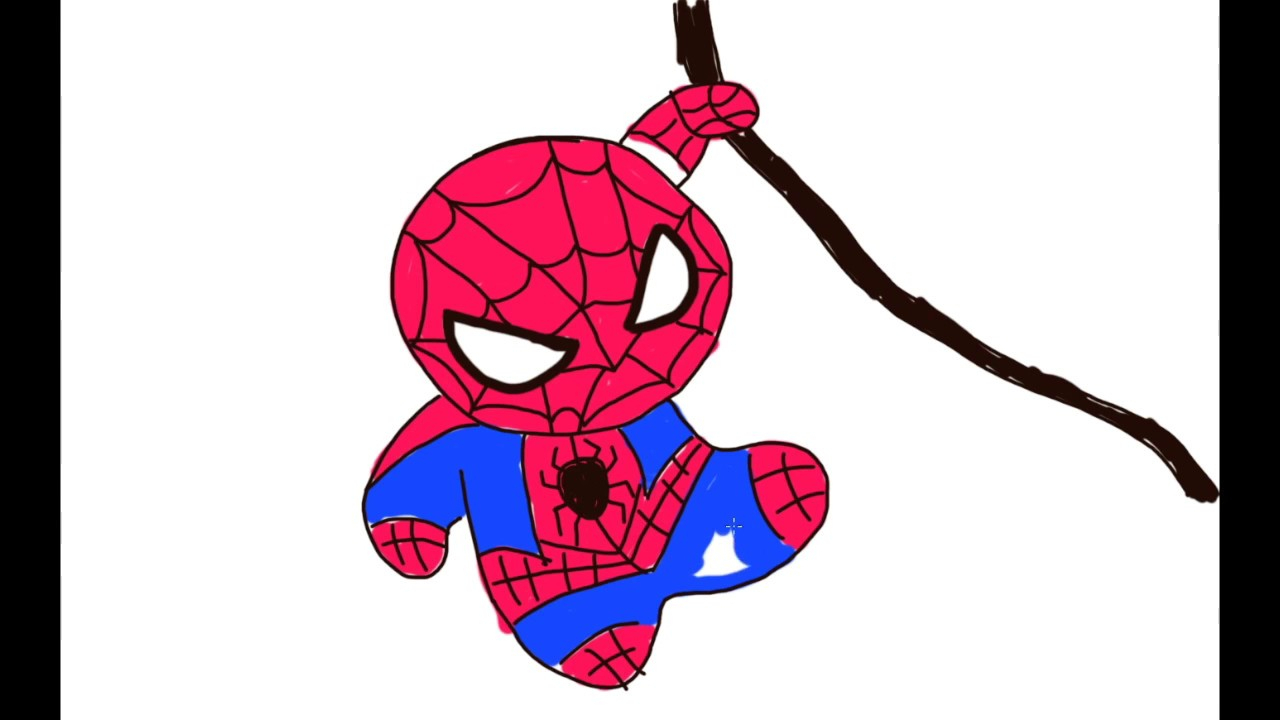 Spiderman Drawing For Kids