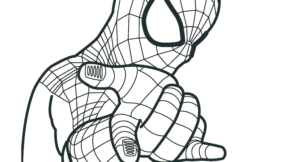 Spiderman Drawing For Kids Free Download On Clipartmag