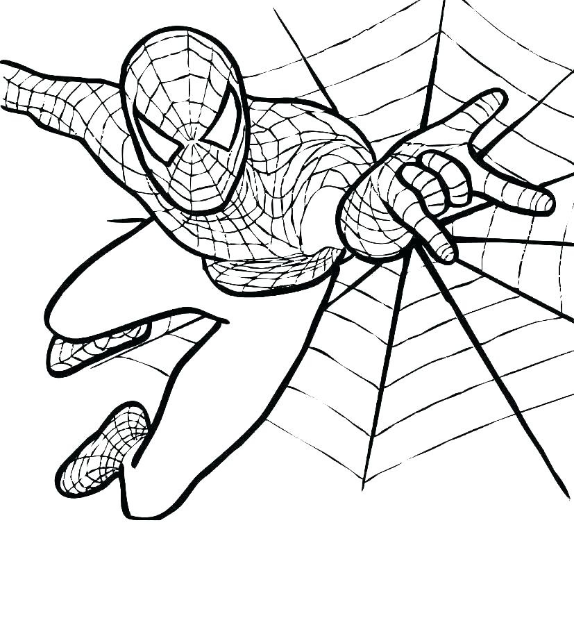 827x900 amazing spiderman coloring pages fresh drawings pictures amazing