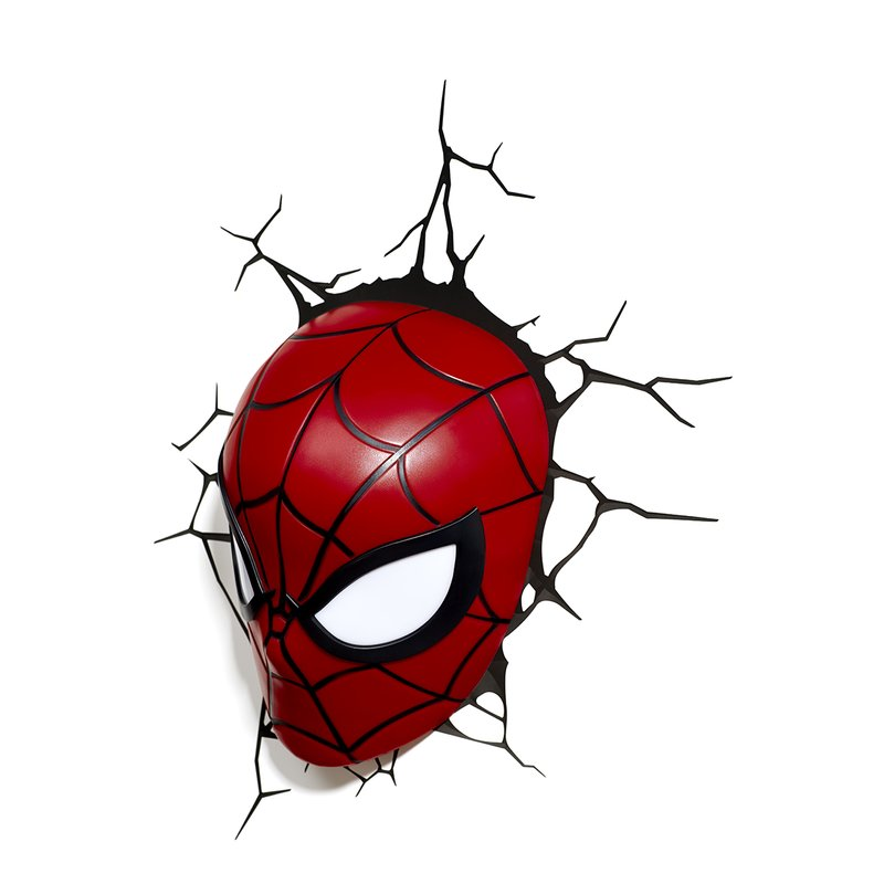 800x800 light fx spiderman mask deco light night light reviews