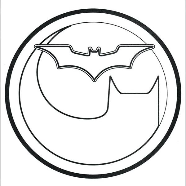600x600 batman logo coloring pages free spiderman logo coloring pages