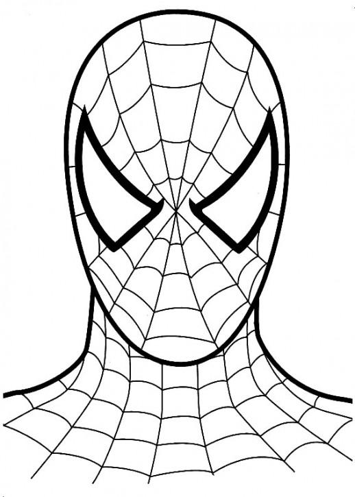 518x725 Mask Spiderman Clipart, Explore Pictures