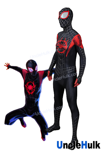 423x600 Spider Man Into The Spider Verse Lycra Cosplay Costume