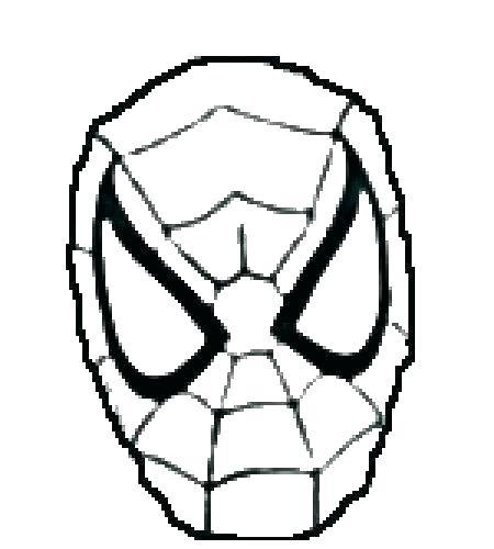 450x500 Spider Mans Mask Tutorial