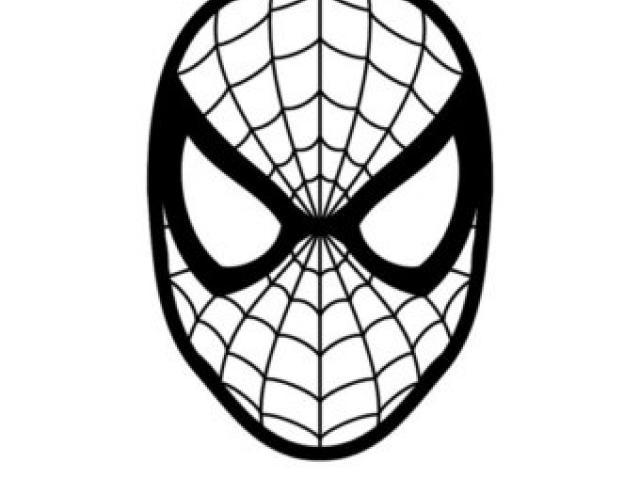 640x480 Spiderman Clipart Spiderman Mask