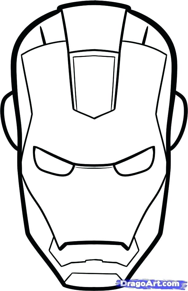 613x947 Spiderman Outline Pictures Outline Draw Spiderman Mask