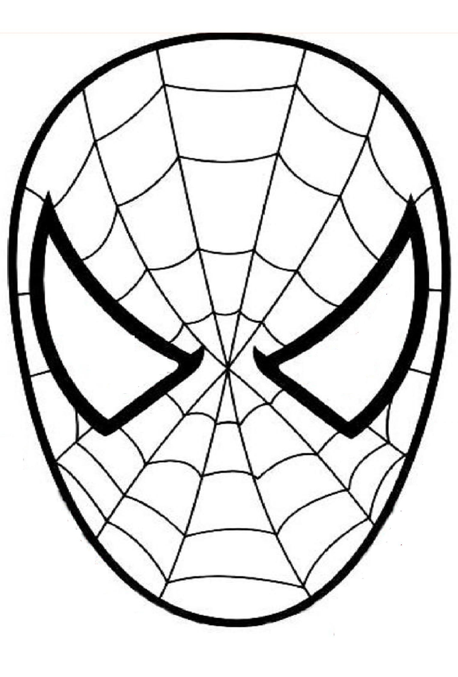 graphic relating to Spiderman Mask Printable identified as Spiderman Mask Drawing Cost-free down load great Spiderman Mask