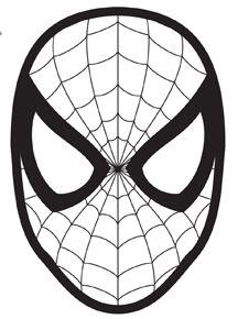 216x290 Elf On The Shelf Spider Man Mask Free Printable Mask The Season