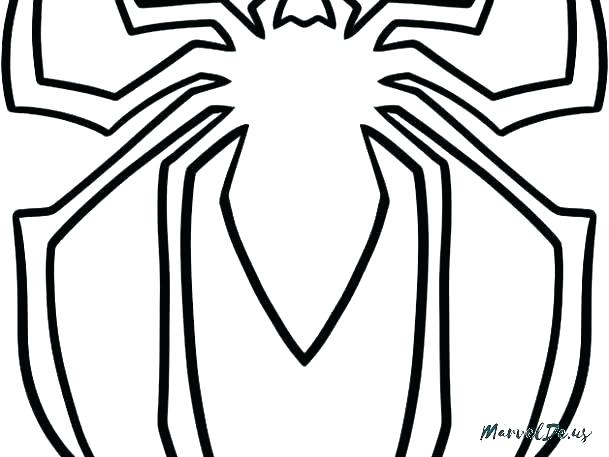 609x457 spiderman logo coloring pages logo coloring pages logo coloring