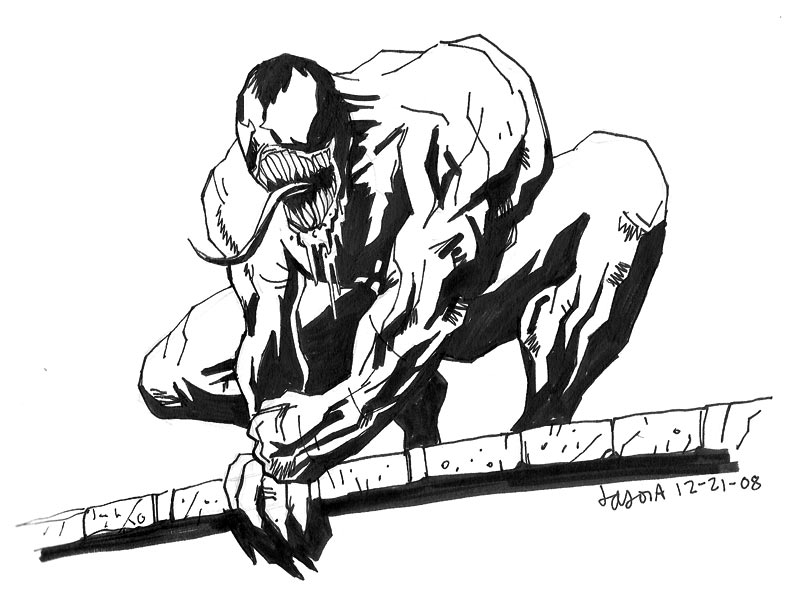 800x603 Sketch Please Spider Man Villain Venom