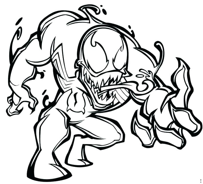 710x643 Spiderman Venom Coloring Pages Coloring Pages Venom Coloring