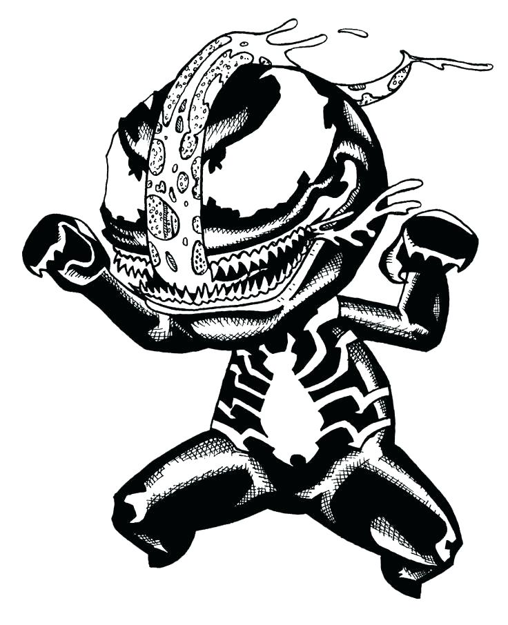 736x906 Spiderman Venom Coloring Pages Venom Coloring Pages Free High