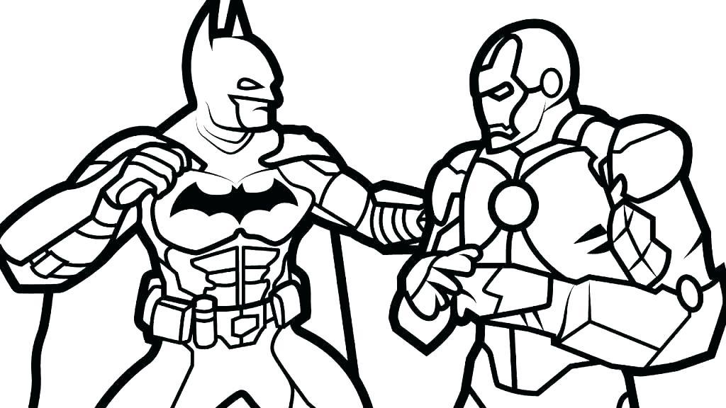 Spiderman Vs Batman Drawing | Free download on ClipArtMag