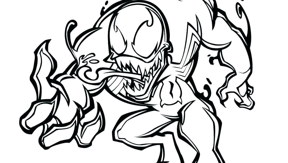 960x544 Spiderman Venom Coloring Pages Coloring