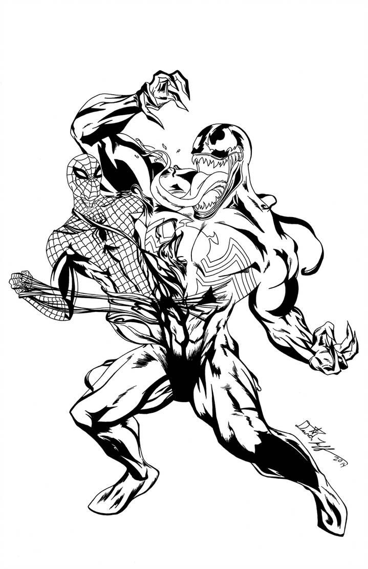 719x1111 Spiderman Vs Venom
