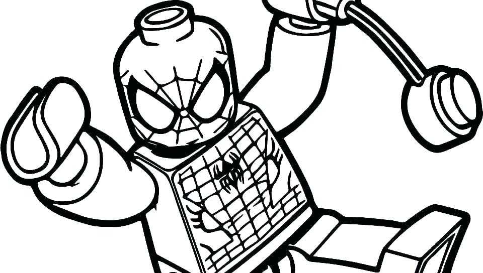 960x544 Spiderman Venom Coloring Pages
