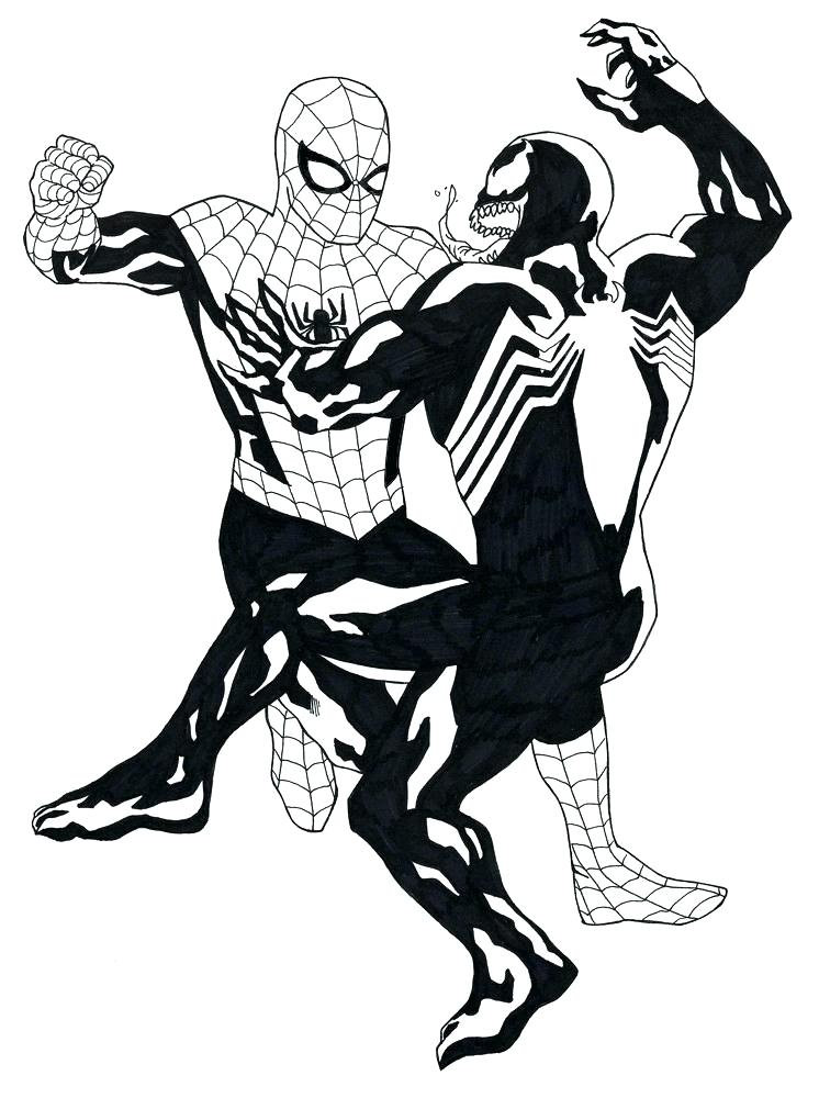 746x1000 Coloriage Spiderman Imprimable Homecoming