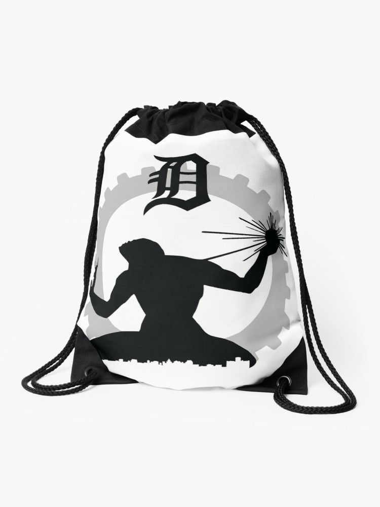 750x1000 Spirit Of Detroit Drawstring Bag