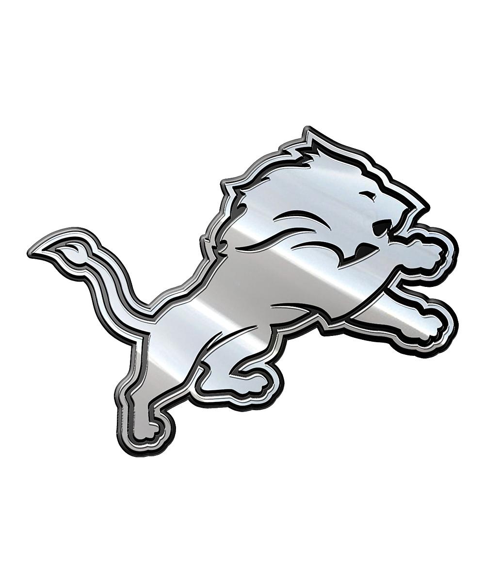 1000x1201 Team Promark Detroit Lions Metal Emblem Zulily