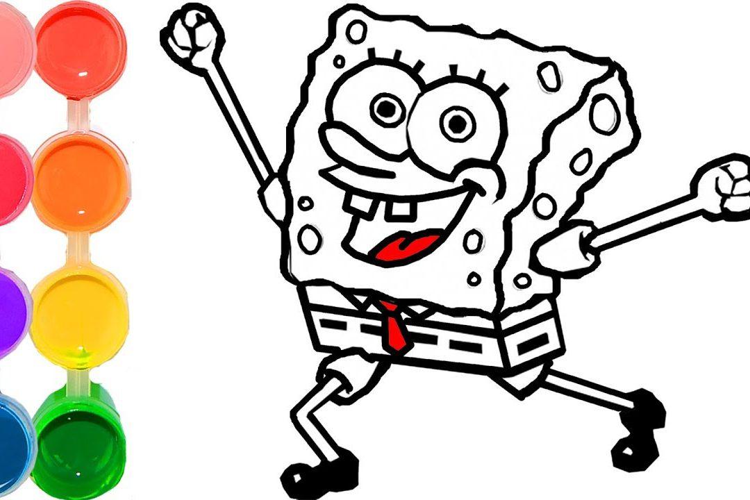 1080x720 How To Draw Spongebob Step