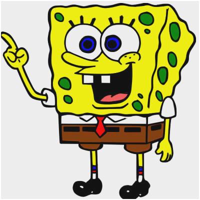400x400 Spongebob Drawing Tutorial Admirably How To Draw Spongebob