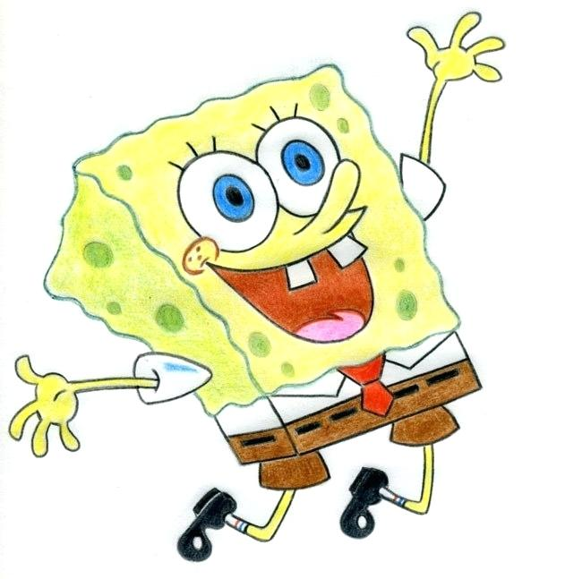 631x647 How To Draw Spongebob Squarepants