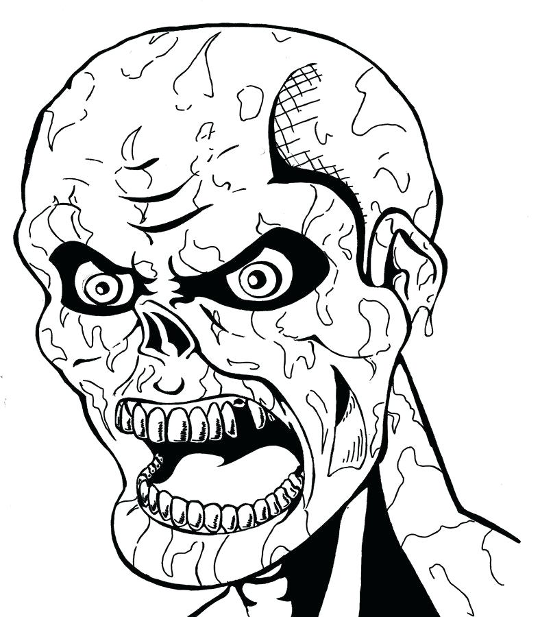 788x900 spooky house coloring pages formidable spooky coloring pages free