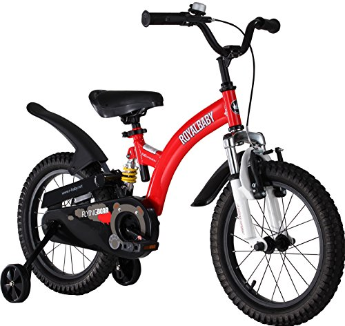 500x472 Royalbaby Flying Bear Full Suspension Kids Bike, Boys Bike, Girls