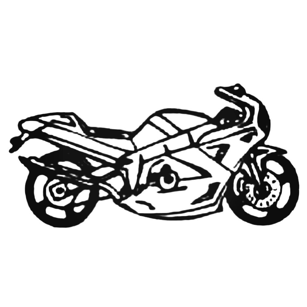 1000x1000 Atv Sportbike Decal Sticker