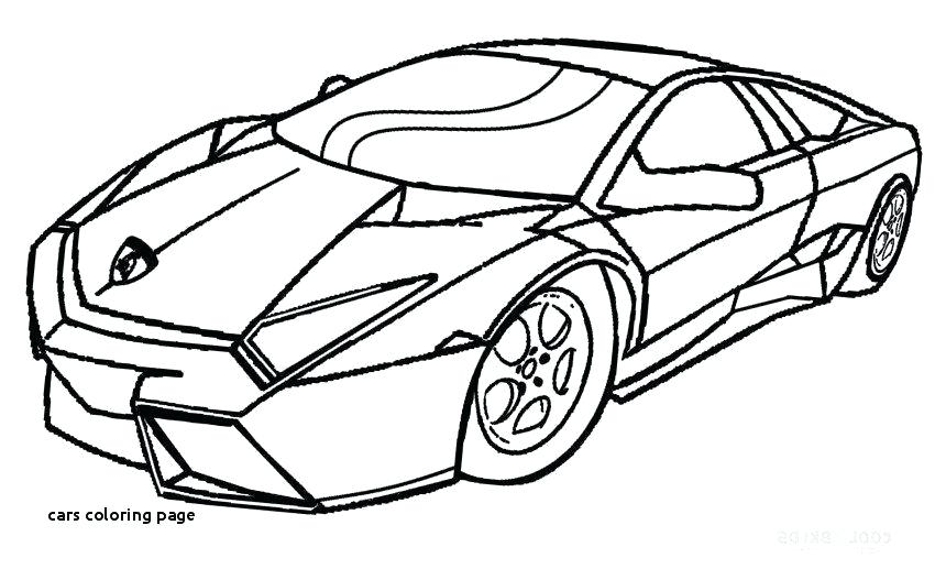 Sports Car Drawing Step By Step