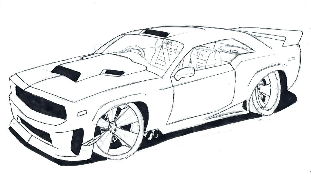 1024x609 Coloring Pages Bmw Sports Car Coloring Pages Free Sport Drawing