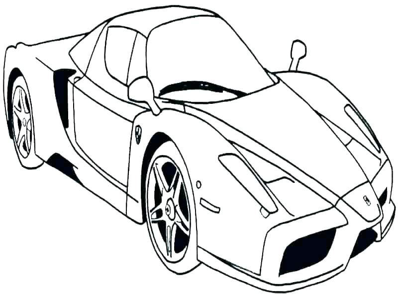 800x600 Sport Car Coloring Pages Sports Cars To Print Free Printable
