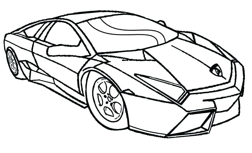 850x517 Sports Car Coloring Pages Printable Printable Car Coloring Pages