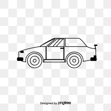 360x360 Car Line Drawing Png, Vectors, And Clipart For Free Download