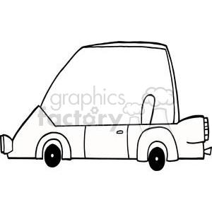 300x300 Cartoon Character Sports Car Clipart Royalty Free Clipart