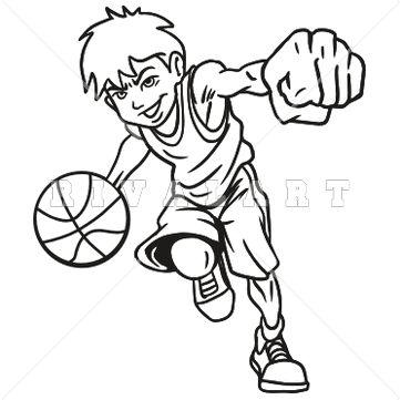 361x361 drawings of wolf playing basketball boy basketball player
