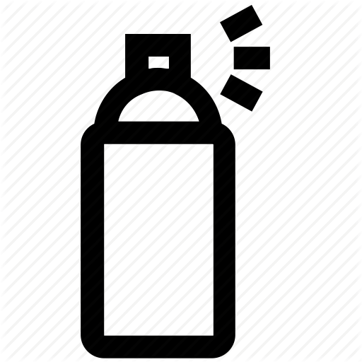 512x512 can, design, draw, graphic, spray, spray can, tool icon