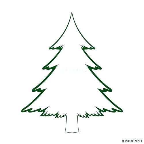 500x500 pine tree drawing how to shade needles of pine tree pine tree