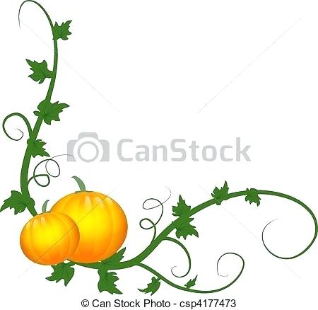 450x438 drawing vines pumpkin vines vines drawing clip art