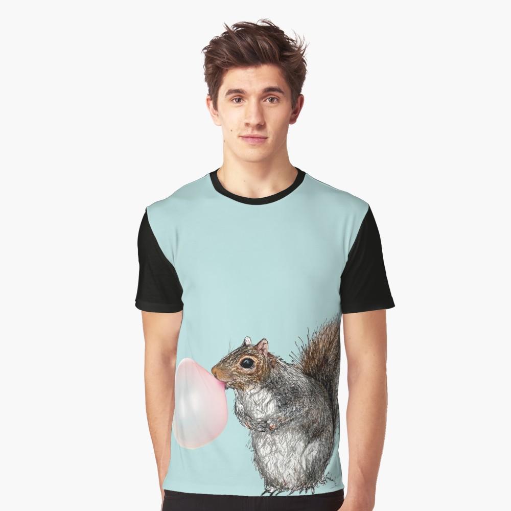 1000x1000 Bubblegum Squirrel T Shirt