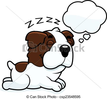 450x416 cartoon saint bernard dreaming a cartoon illustration of a saint