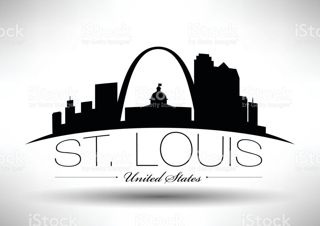 1024x724 St Louis Skyline Clipart