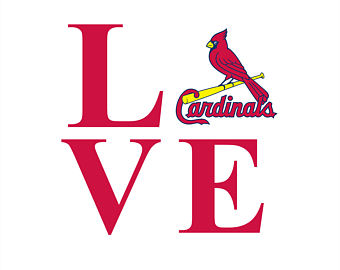 340x270 St Louis Cardinals Silhouette St Louis Skyline Drawing