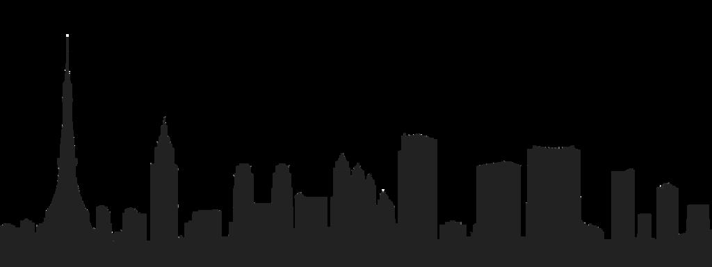 1024x384 San Francisco Skyline Vector Black And White Download Huge