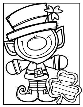 270x350 Free St Patrick's Day Coloring Pages {made