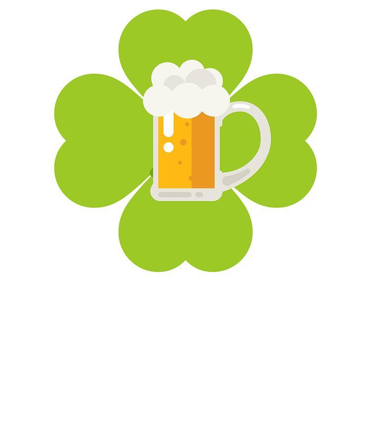 750x900 St Patricks Day Beer Irish Shamrock Drawing