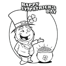230x230 Top Free Printable St Patrick's Day Coloring Pages Online