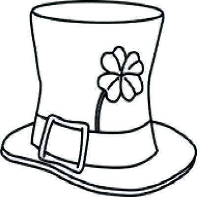 400x400 St Patricks Day Clipart Black And White St Patrick Day Clipart St